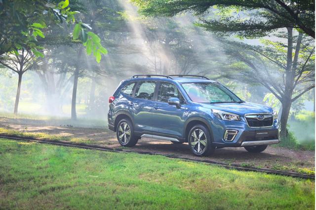 Subaru Forester thêm trang bị tại Việt Nam, giá từ 969 triệu đồng, tăng sức đấu Honda CR-V - Ảnh 1.