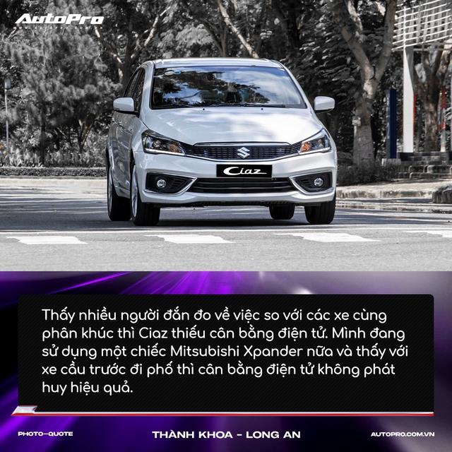 Người mua Suzuki Ciaz: 'Thiết kế không hợp số đông nhưng thực dụng và bền bỉ' - Ảnh 11.