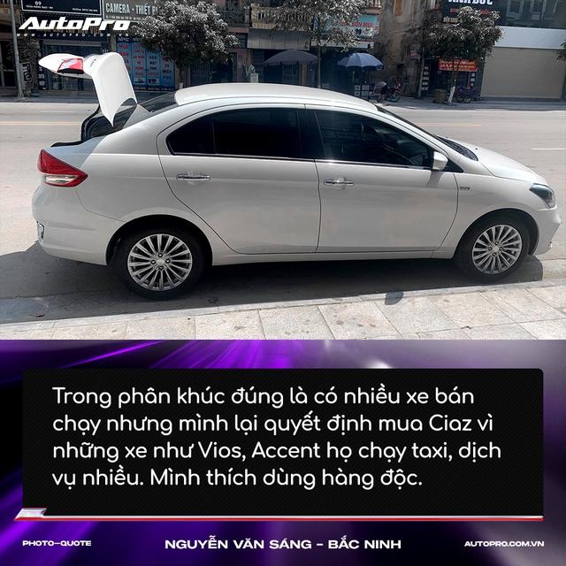 Người mua Suzuki Ciaz: 'Thiết kế không hợp số đông nhưng thực dụng và bền bỉ' - Ảnh 4.