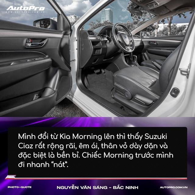 Người mua Suzuki Ciaz: 'Thiết kế không hợp số đông nhưng thực dụng và bền bỉ' - Ảnh 5.