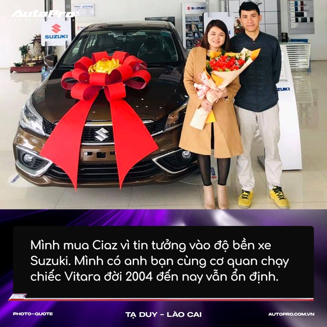 Người mua Suzuki Ciaz: 'Thiết kế không hợp số đông nhưng thực dụng và bền bỉ' - Ảnh 1.