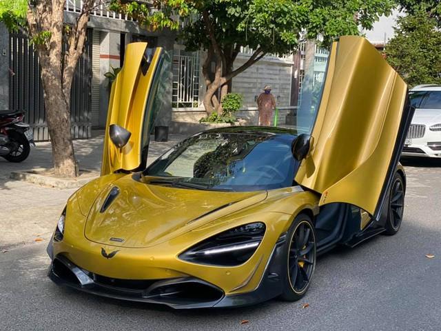 Đại gia Đà Nẵng chi hơn 600 triệu đồng để biến McLaren 720S Spider trở nên độc nhất Việt Nam - Ảnh 1.