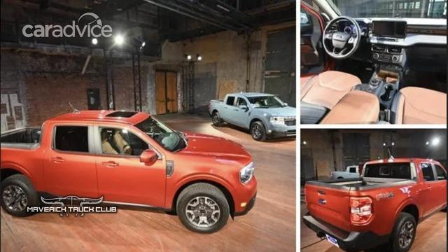 Lộ diện Ford Maverick trước ngày ra mắt - Bán tải mini chủ yếu đi phố, đàn em Ranger - Ảnh 1.