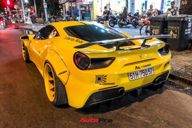 Ferrari 488 GTB độ Liberty Walk độc nhất Việt Nam của doanh nhân kinh doanh online tiếp tục thay áo - Ảnh 2.