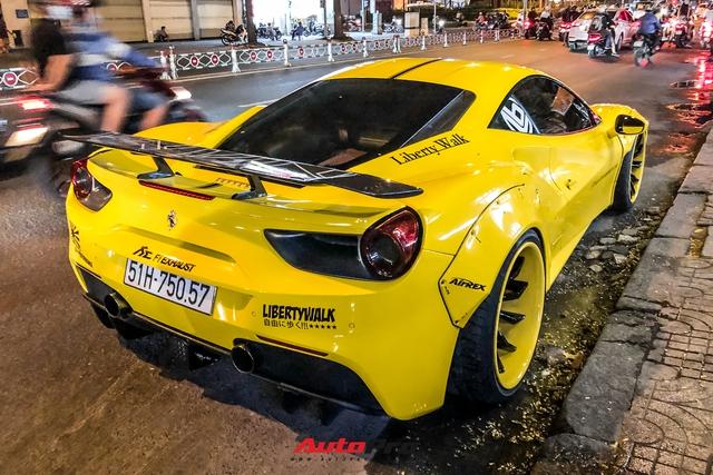 Ferrari 488 GTB độ Liberty Walk độc nhất Việt Nam của doanh nhân kinh doanh online tiếp tục thay áo - Ảnh 7.