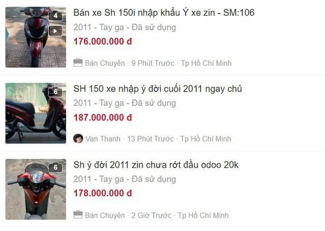 Honda SH 150i 10 năm tuổi vẫn đẹp khó tin, bán giá bất ngờ - Ảnh 8.
