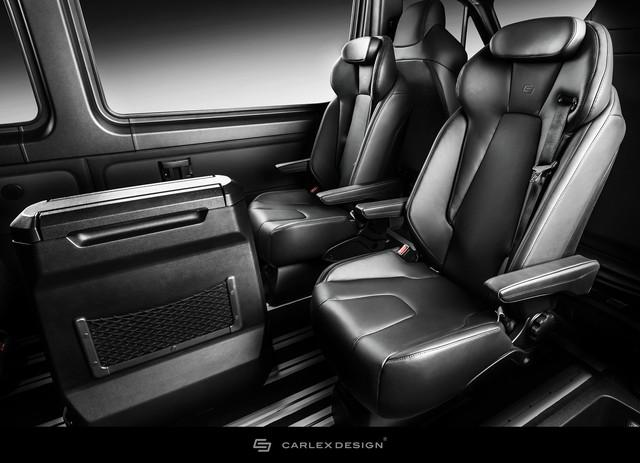 Mercedes-Benz Sprinter thêm nửa tỷ để trở thành bản độ siêu ngầu từ trong ra ngoài - Ảnh 6.
