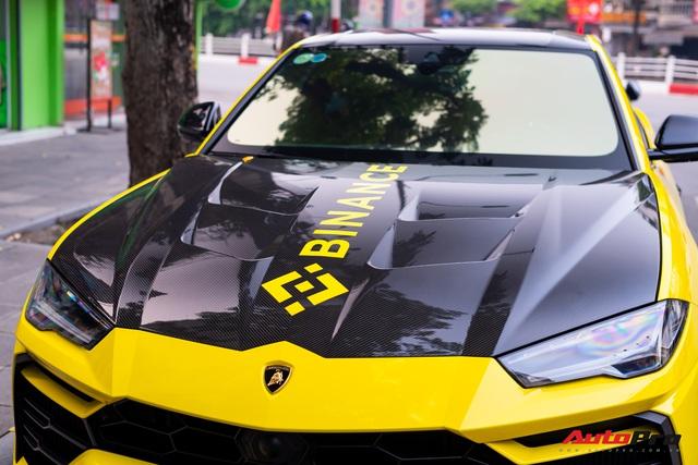 Lamborghini Urus từng thuộc sở hữu của Minh nhựa xuất hiện tại Hà Nội với điểm mới - Ảnh 5.