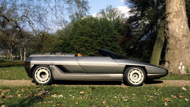 """Những chiếc xe concept kỳ quặc của thập niên 1980 – Phần 2: """"Thần mặt trời"""" Lamborghini Athon - Ảnh 1."""