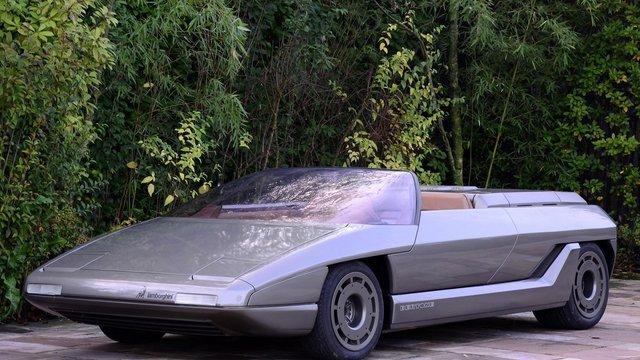 """Những chiếc xe concept kỳ quặc của thập niên 1980 – Phần 2: """"Thần mặt trời"""" Lamborghini Athon - Ảnh 2."""