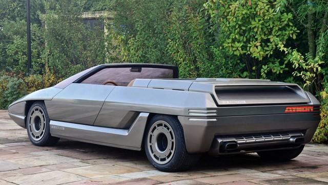 """Những chiếc xe concept kỳ quặc của thập niên 1980 – Phần 2: """"Thần mặt trời"""" Lamborghini Athon - Ảnh 3."""