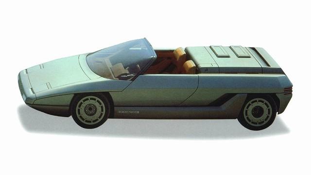 """Những chiếc xe concept kỳ quặc của thập niên 1980 – Phần 2: """"Thần mặt trời"""" Lamborghini Athon - Ảnh 4."""