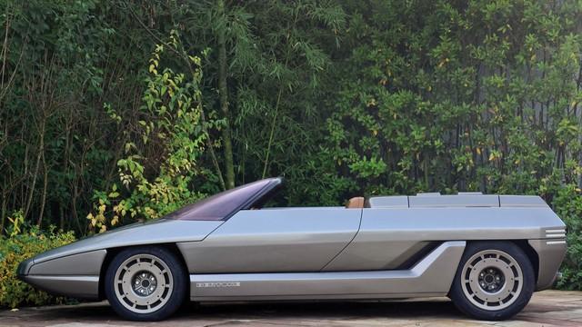 """Những chiếc xe concept kỳ quặc của thập niên 1980 – Phần 2: """"Thần mặt trời"""" Lamborghini Athon - Ảnh 8."""