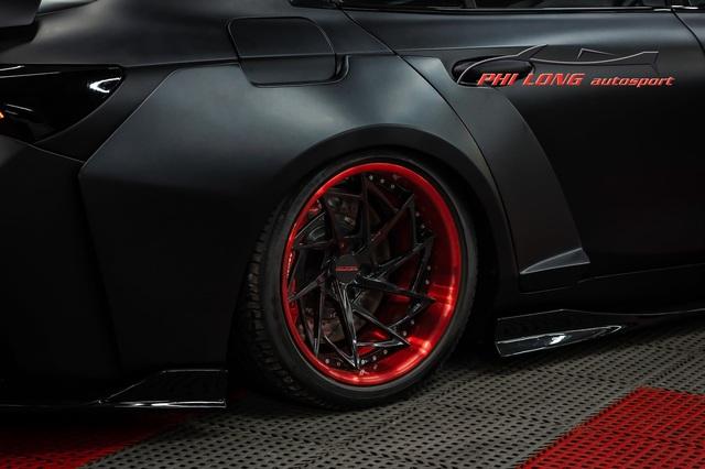 Bản độ VinFast Lux A2.0 gây sốt của thợ Việt: Thiết kế độc nhất vô nhị, đẹp không kém siêu xe - Ảnh 8.