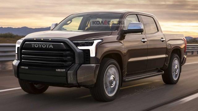 Xem trước Toyota Tundra thế hệ mới sẽ trở lại đấu Ford F-150 - Ảnh 1.