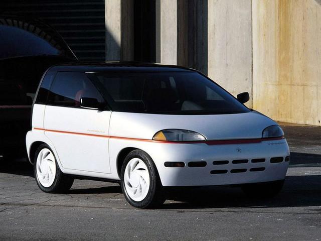 """Những chiếc xe concept kỳ quặc của thập niên 80 – Phần 3: Xe """"hai trong một"""" Plymouth Voyager III - Ảnh 3."""