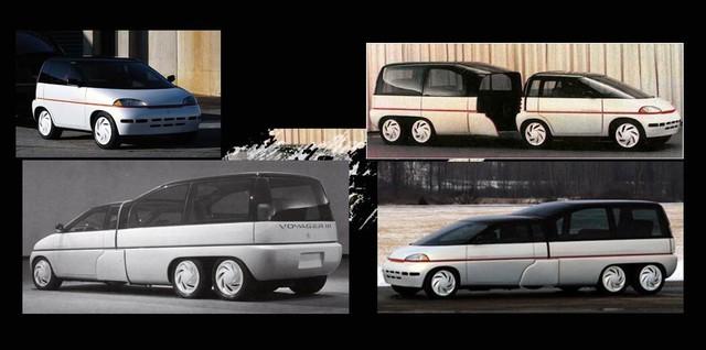 """Những chiếc xe concept kỳ quặc của thập niên 80 – Phần 3: Xe """"hai trong một"""" Plymouth Voyager III - Ảnh 5."""