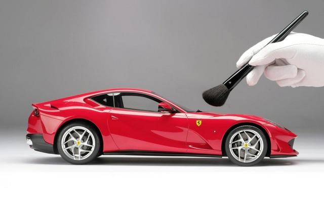 Siêu mô hình Ferrari: Tuỳ biến như xe thật, giá rẻ cũng phải gần trăm triệu, có mẫu độ ngang giá Kia Morning - Ảnh 3.