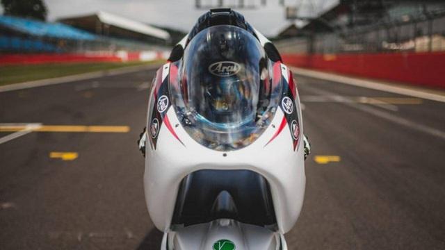 Xe máy điện 2 tầng tốc độ khủng khiếp 400km/h, ngang ngửa thần gió Bugatti Veyron - Ảnh 6.