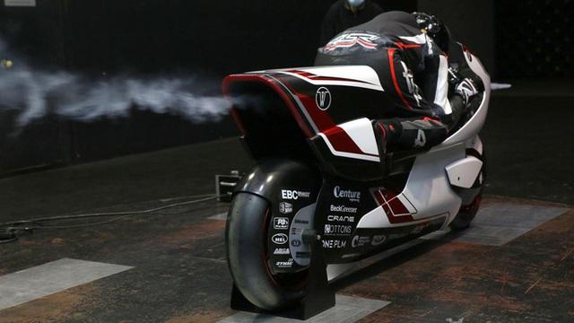 Xe máy điện 2 tầng tốc độ khủng khiếp 400km/h, ngang ngửa thần gió Bugatti Veyron - Ảnh 8.