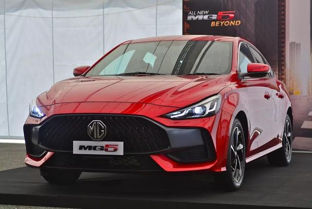 Xem trước thực tế MG5 2021 vừa xuất hiện với giá quy đổi 460 triệu đồng sẽ về Việt Nam cạnh tranh Kia Cerato - Ảnh 1.