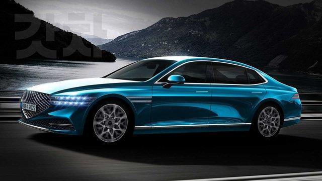 Xem trước Genesis G90 2022 - Đối trọng của Mercedes-Benz S-Class sẽ tạo cuộc cách mạng xe sang Hàn Quốc - Ảnh 3.