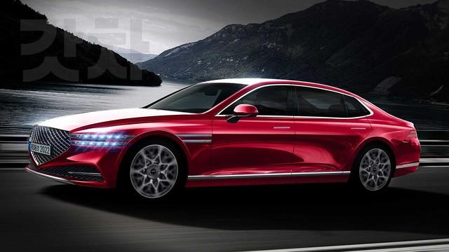 Xem trước Genesis G90 2022 - Đối trọng của Mercedes-Benz S-Class sẽ tạo cuộc cách mạng xe sang Hàn Quốc - Ảnh 1.