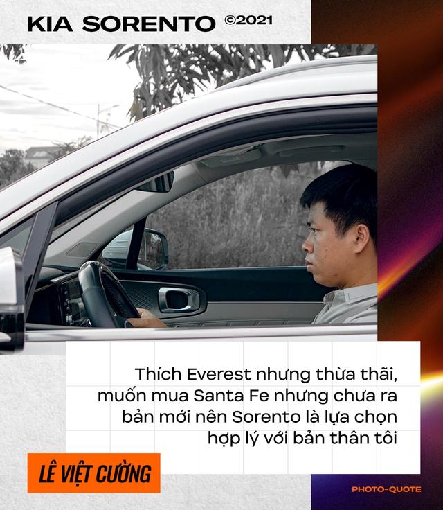 Loại Ford Everest dù thích, dân chơi lan Hà Nội sắm Kia Sorento 2021 chạy xuyên Việt rồi đánh giá: 'Đi nhàn, ăn dầu như ngửi' - Ảnh 3.