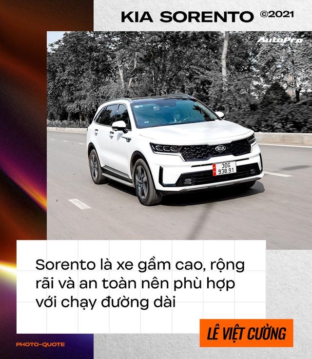 Loại Ford Everest dù thích, dân chơi lan Hà Nội sắm Kia Sorento 2021 chạy xuyên Việt rồi đánh giá: 'Đi nhàn, ăn dầu như ngửi' - Ảnh 5.