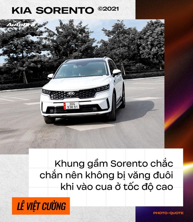 Loại Ford Everest dù thích, dân chơi lan Hà Nội sắm Kia Sorento 2021 chạy xuyên Việt rồi đánh giá: 'Đi nhàn, ăn dầu như ngửi' - Ảnh 6.