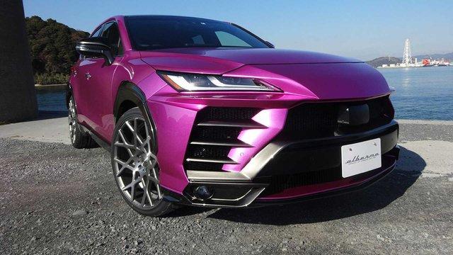 Chơi xe kiểu fake: Độ Toyota Venza giá rẻ thành siêu SUV Lamborghini Urus như thật - Ảnh 1.