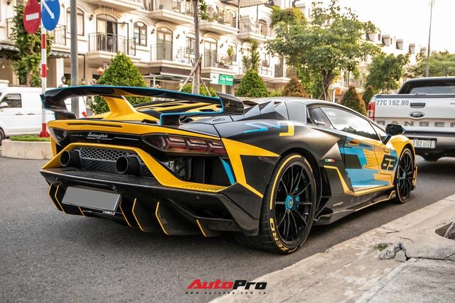 Cận cảnh Lamborghini Aventador SVJ độ lên phiên bản cực giới hạn của đại gia Việt - Ảnh 4.