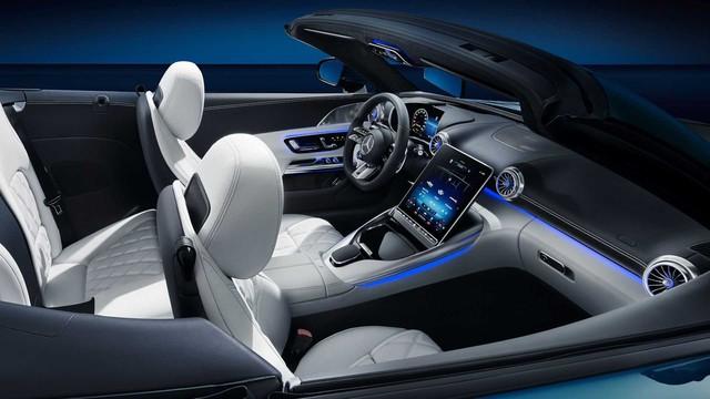 Xe chơi mui trần Mercedes-AMG SL nhá hàng khoang cabin đỉnh cao hơn S-Class, là đối thủ đáng gờm của BMW 8-Series Convertible - Ảnh 2.