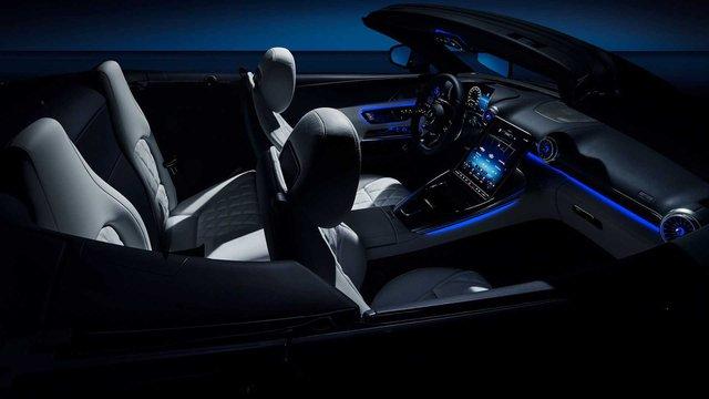 Xe chơi mui trần Mercedes-AMG SL nhá hàng khoang cabin đỉnh cao hơn S-Class, là đối thủ đáng gờm của BMW 8-Series Convertible - Ảnh 5.