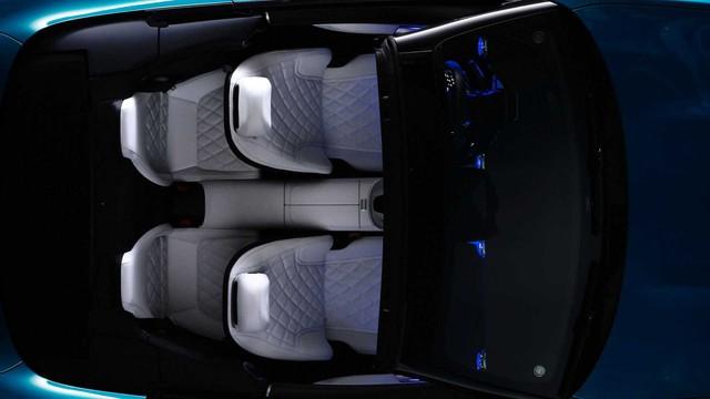 Xe chơi mui trần Mercedes-AMG SL nhá hàng khoang cabin đỉnh cao hơn S-Class, là đối thủ đáng gờm của BMW 8-Series Convertible - Ảnh 4.