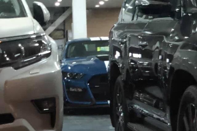 Lộ diện trần trụi Ford Mustang Shelby GT500 kịch độc âm thầm về Việt Nam: Xe thể thao siêu mạnh, ăn đứt nhiều siêu xe - Ảnh 1.