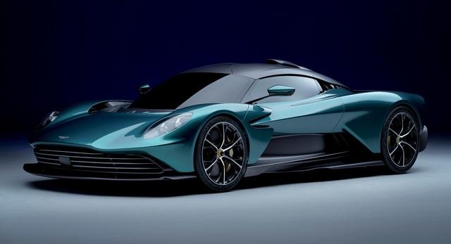 Ra mắt Aston Martin Valhalla bản thương mại - Siêu xe mang thiết kế lạ, hộp số lạ và động cơ hoàn toàn mới của hãng xe Anh quốc - Ảnh 1.