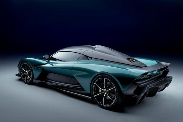 Ra mắt Aston Martin Valhalla bản thương mại - Siêu xe mang thiết kế lạ, hộp số lạ và động cơ hoàn toàn mới của hãng xe Anh quốc - Ảnh 2.
