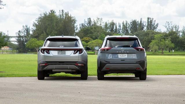 Hyundai Tucson 2021 vs Nissan X-Trail 2021: Cuộc đua gay cấn về tiện nghi và công nghệ giữa cặp đôi SUV Hàn, Nhật - Ảnh 4.