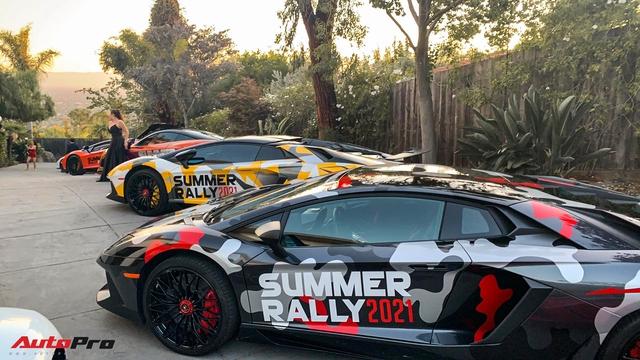 Đoàn siêu xe của người Việt tụ họp trước hành trình Summer Rally, một siêu xe hàng hiếm bất ngờ xuất hiện - Ảnh 5.