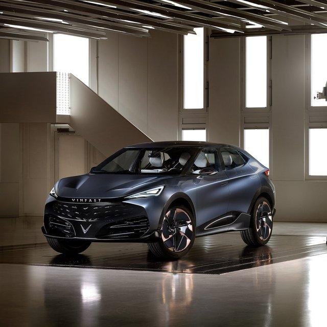 Thực hư về mẫu SUV-Coupe thể thao gắn logo VinFast đang gây sốt trên mạng xã hội - Ảnh 1.