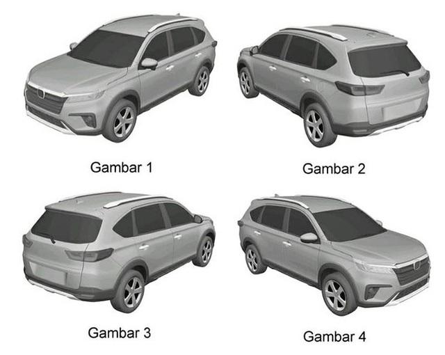 Honda N7X phiên bản thương mại - Đối thủ Mitsubishi Xpander lộ ảnh đăng ký bản quyền - Ảnh 1.