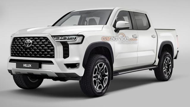 Xem trước Toyota Hilux đời mới: Mặt như Land Cruiser, đe doạ Ford Ranger - Ảnh 3.