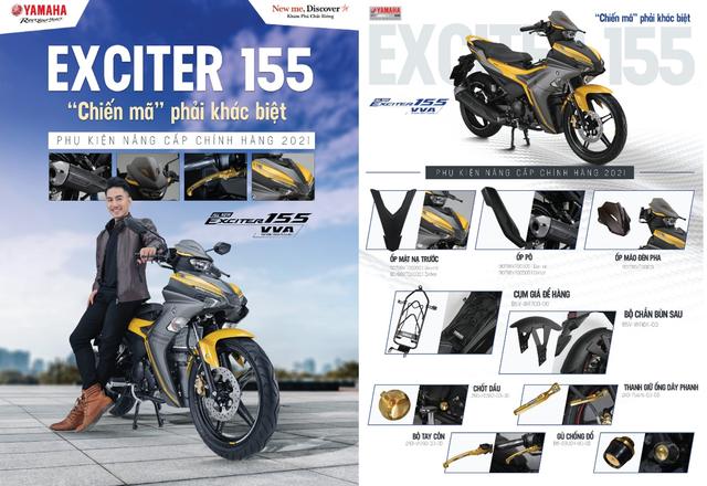 Yamaha Exciter 155 mới về đại lý: Dân chơi tò mò bộ phụ kiện như PKL từ 99 nghìn đồng - Ảnh 6.
