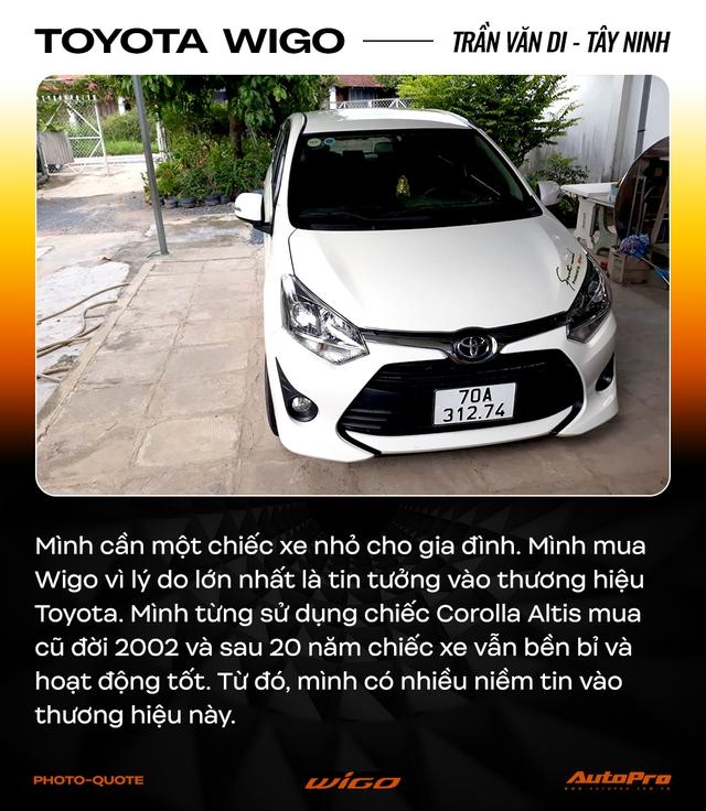 Chủ xe Toyota Wigo khẳng định: 'Không cần xe đẹp, nhiều option, chỉ cần bền' - Ảnh 1.