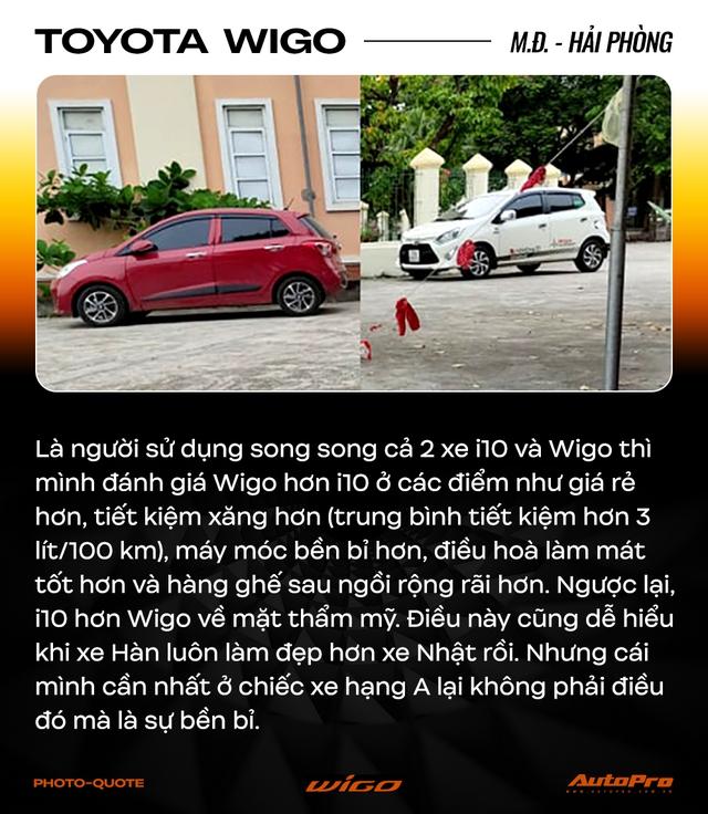 Chủ xe Toyota Wigo khẳng định: 'Không cần xe đẹp, nhiều option, chỉ cần bền' - Ảnh 10.