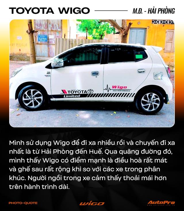 Chủ xe Toyota Wigo khẳng định: 'Không cần xe đẹp, nhiều option, chỉ cần bền' - Ảnh 11.