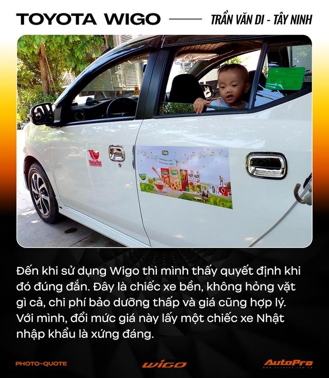 Chủ xe Toyota Wigo khẳng định: 'Không cần xe đẹp, nhiều option, chỉ cần bền' - Ảnh 2.