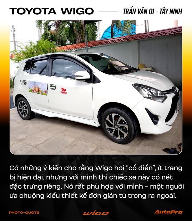 Chủ xe Toyota Wigo khẳng định: 'Không cần xe đẹp, nhiều option, chỉ cần bền' - Ảnh 3.