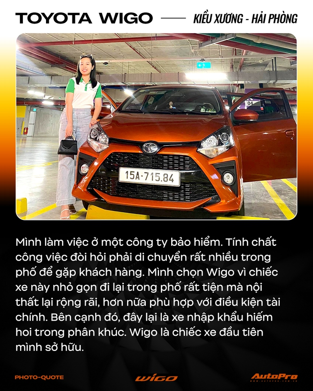 Chủ xe Toyota Wigo khẳng định: 'Không cần xe đẹp, nhiều option, chỉ cần bền' - Ảnh 4.